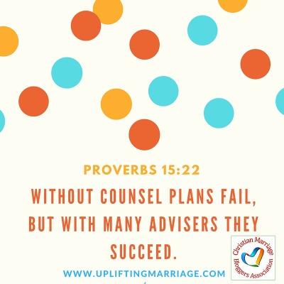 Proverbs 15:22